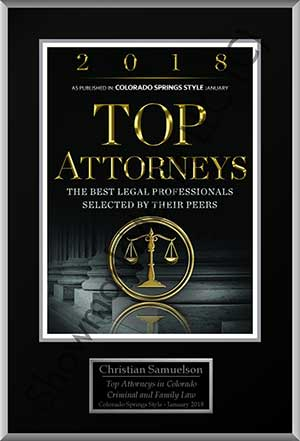 Top Attorneys in Colorado, Criminal & Family Law - Christian Samuelson